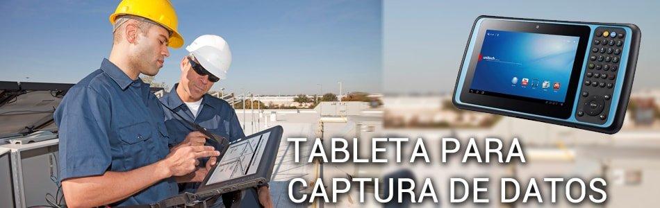 Tabletas para Captura de Datos