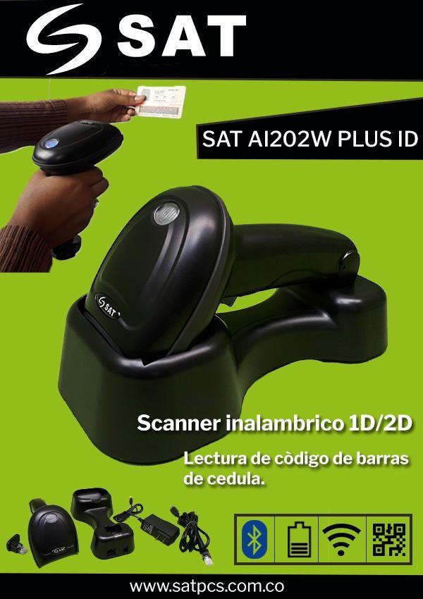 Lector de cédula colombiana AI202W PLUS ID Moviltronix